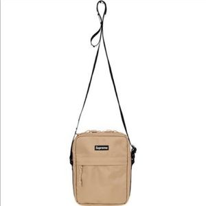 Tan Supreme Shoulder bag. Like new